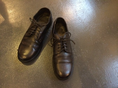 CHRISTIAN PEAU leather shoes